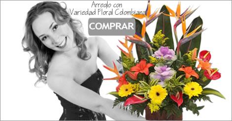 Arreglo Floral Colombiano Bogota