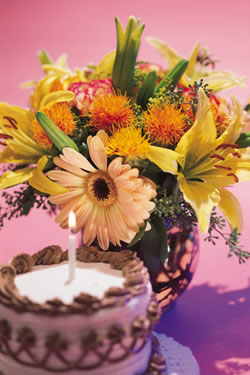 Cumpleaños y Flores
