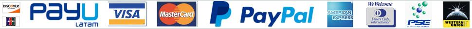 Formas de Pago Floristerias en Bogota JM Paypal