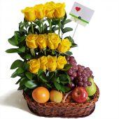 Combo Rosas y Frutas a Domicilio en Bogota