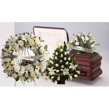 Paquete de Flores Fúnebres a domicilio