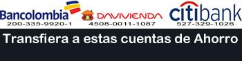 Pagar a Cuenta de Ahorros en Bogota Flores a Domicilio