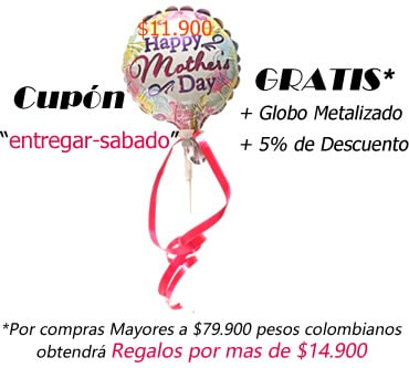 Promocion Dia Madre Bogota a entregar el sábado