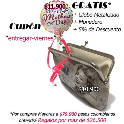 Promocion Dia Madre Bogota a entregar el Viernes