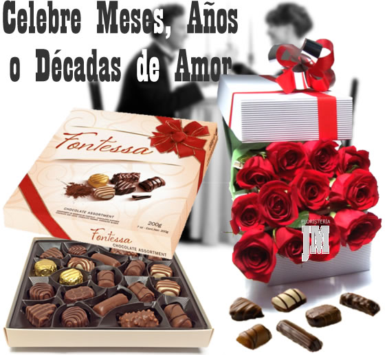 Anniversary Flowers and Gifts Bogota Colombia Delivery