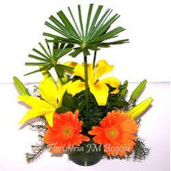 Arreglos Florales con Lirios en Bogota a Domicilio