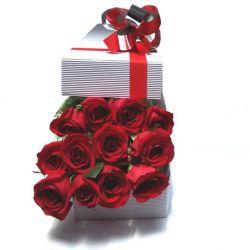 Caja de Rosas a Domicilio en Bogota