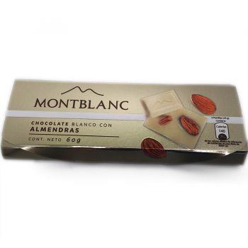 Chocolate Blanco Montblanc