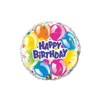 globo metalizado happy birthday bogota
