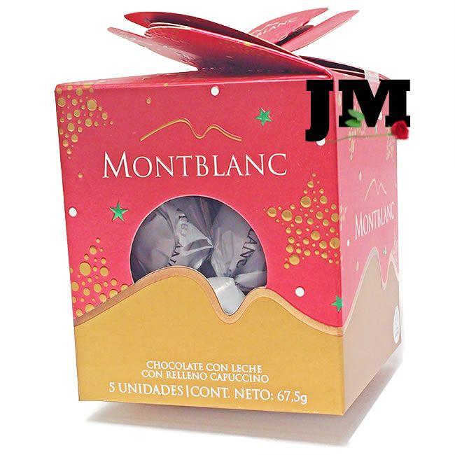Chocolates MontBlanc de 5 Bombones