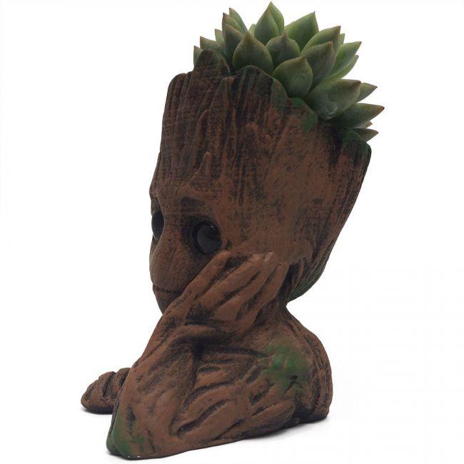 Groot Maceta vista izquierda