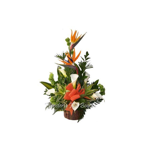 Canastas de flores