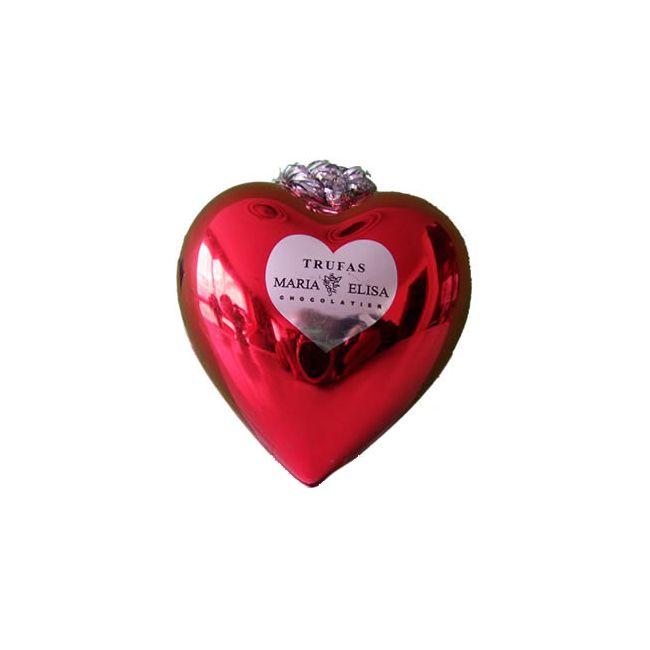 Trufas de Chocolate en Corazón